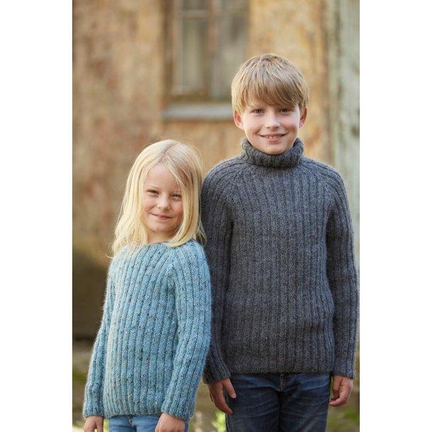 Antons Ribsweater.  10 - 15 år