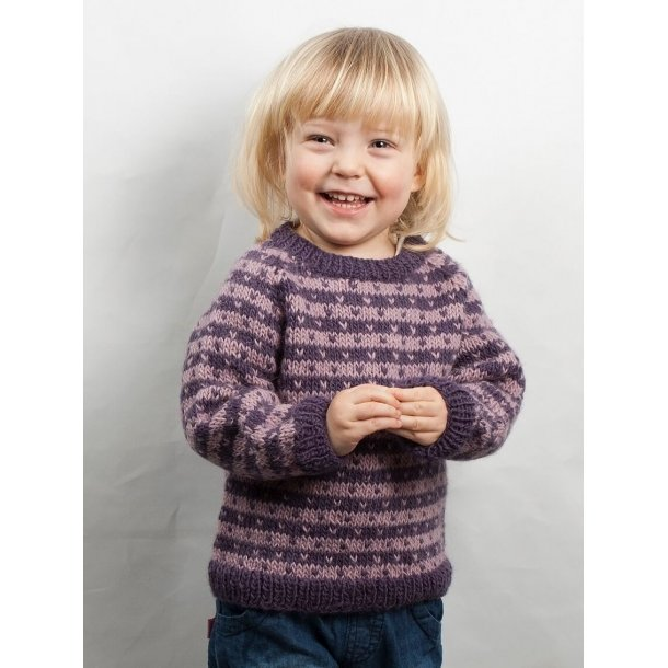Baby sweater med lus.