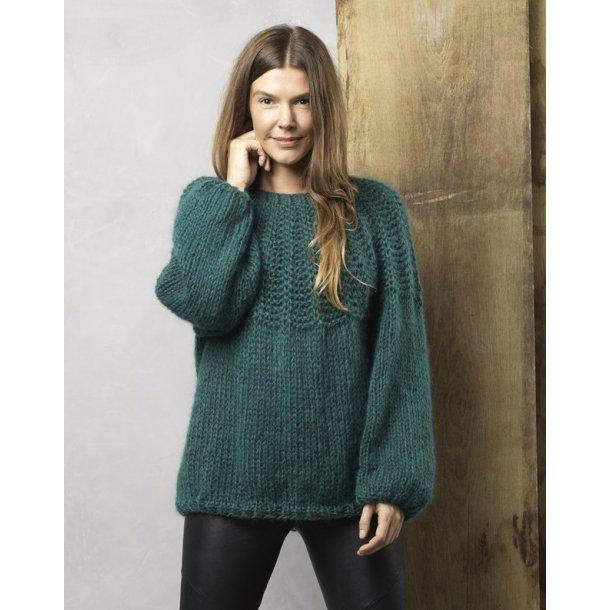 Dolce Mohair sweater i dobbelt garn.