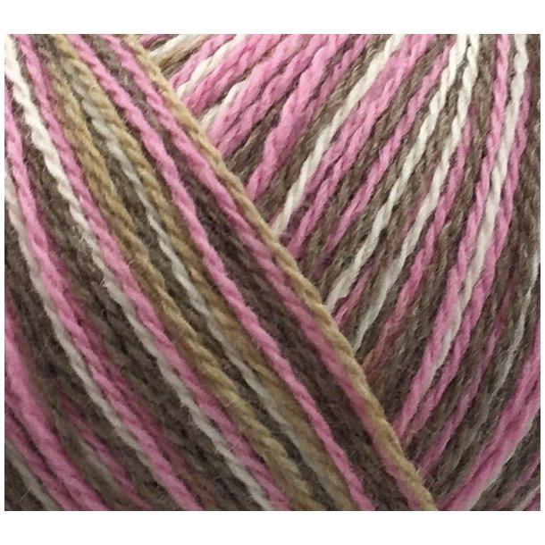 Esther Color Print - Pink / beige 79