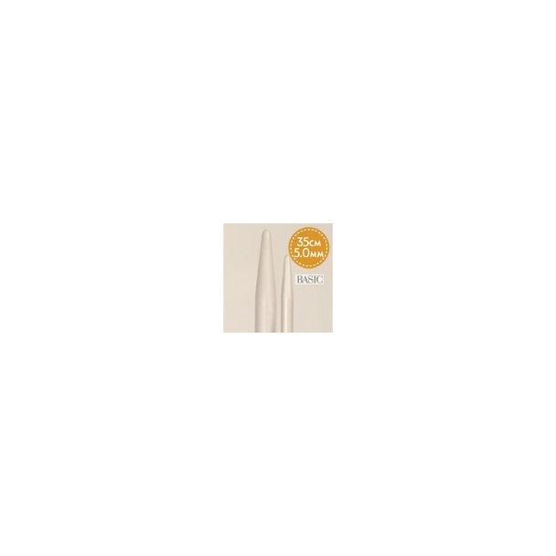 Strikke / Jumperpinde 5,0 mm 35 cm lang